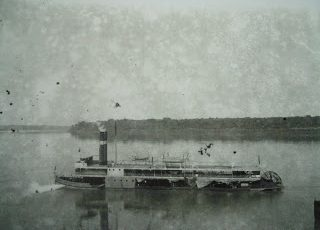 Abertura do Rio Amazonas à navegação: O Navio a Vapor