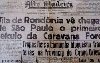 Caravana FORD, uma aventura em Rondônia