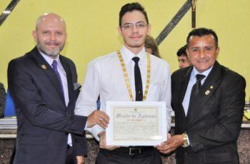 ORDEM DEMOLAY: Câmara homenageia 30 anos do Capítulo Jorge Teixeira