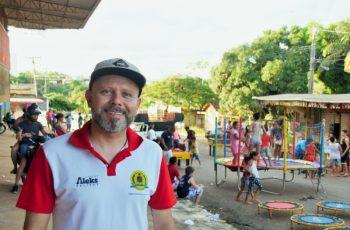 Aleks Palitot promove Páscoa Solidária no Areal