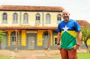 Professor Aleks Palitot inicia ciclo de palestras sobre história de Rondônia