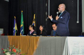 Aleks Palitot participa da 3ª Conferência Municipal de Educação