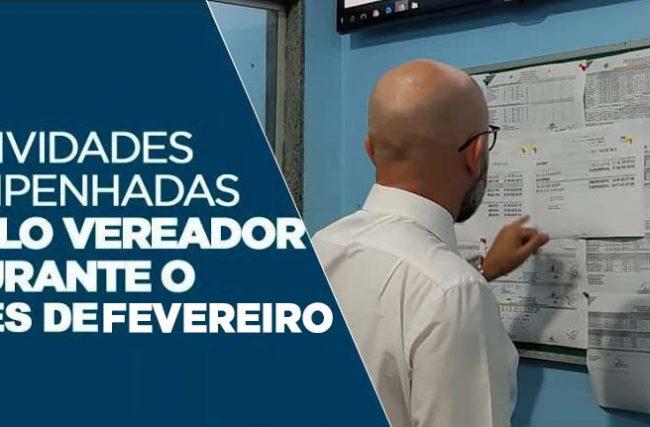 RETROSPECTIVA DE FEVEREIRO