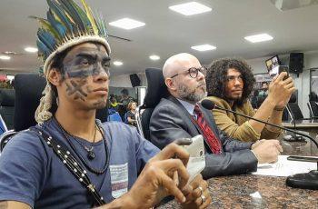 Aleks Palitot participa de discussão sobre municipalização da saúde indígena