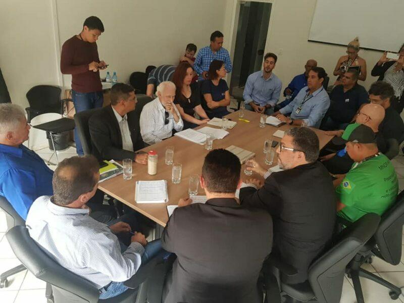 Meio Ambiente: Palitot entrega Carta de Intenções ao Executivo