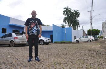 Palitot visita Centro de Reabilitação da capital