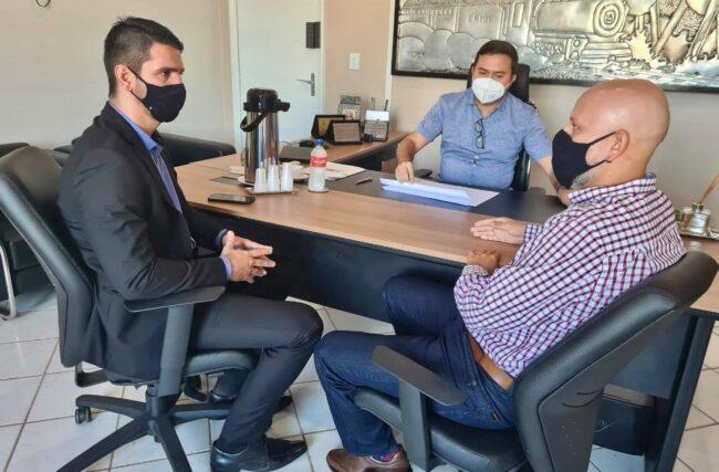 CICLOVIA E CICLOFAIXA: Vereador Aleks Palitot se reuniu com Secretários para viabilizar acessos em Porto Velho