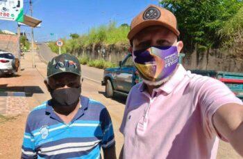 Pedidos de Aleks Palitot são atendidos no bairro Tucumanzal