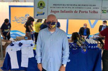 Palitot participa de solenidade da Semes no Parque Aquático Vinicius Danin